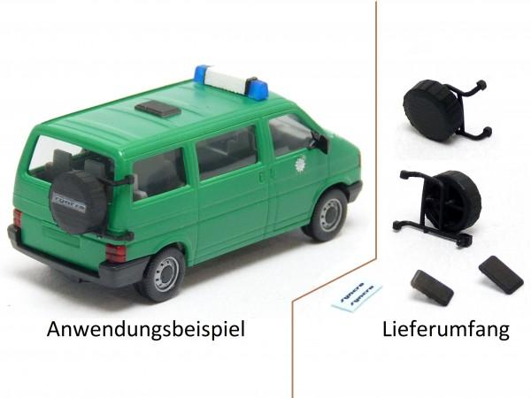 Snycro Ersatzrad und Dachluke für VW T4 Bus