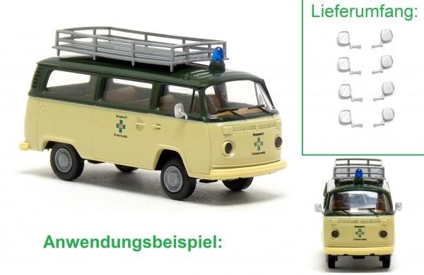 8x Außenspiegel für VW T2 Modelle