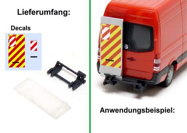 Ladebordwand für Transporter - klein