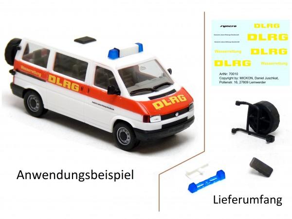 Umbausatz - VW T4 Bus syncro DLRG Wasserrettung
